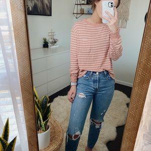 Stars Above Striped Sweater